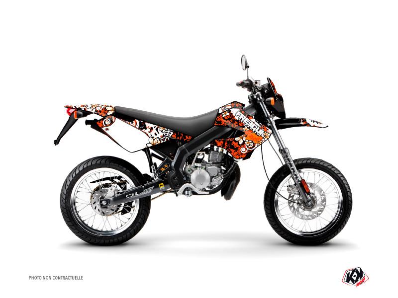 Derbi Xtreme / Xrace 50cc Freegun Carp Graphic Kit