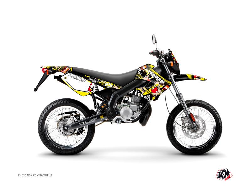 Derbi Xtreme / Xrace 50cc Freegun Freegunman Graphic Kit