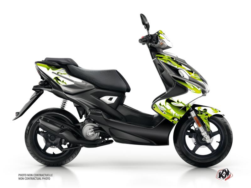 Kit Déco Scooter Fun Yamaha Aerox Vert