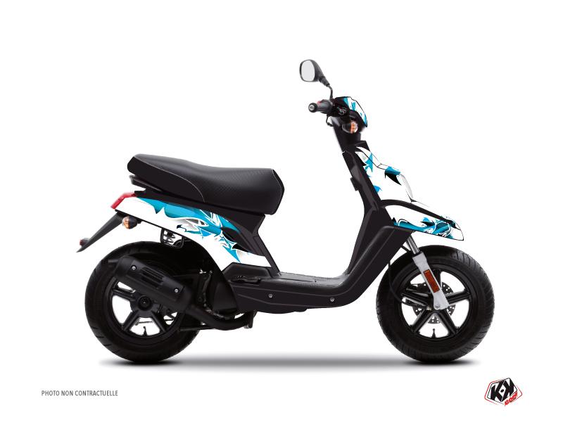 Yamaha BWS Scooter Fun Graphic Kit Blue