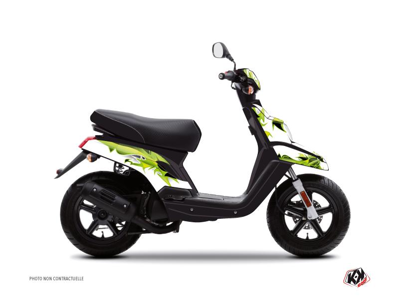 Yamaha BWS Scooter Fun Graphic Kit Green