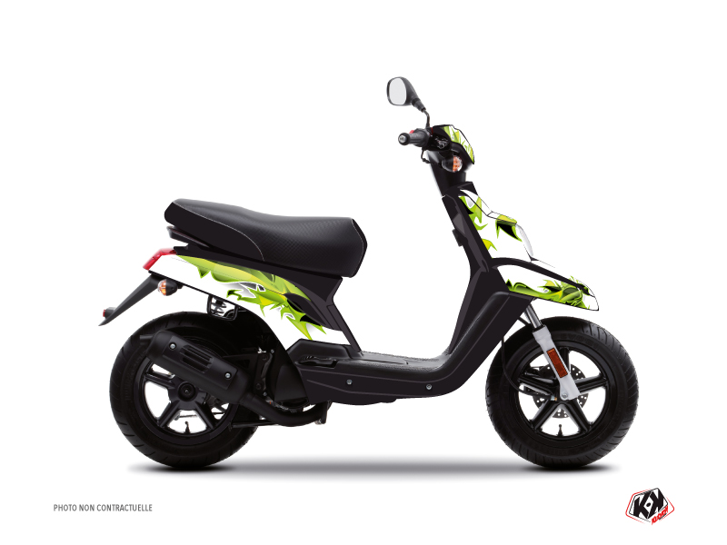 Kit Déco Scooter Fun MBK Booster Vert
