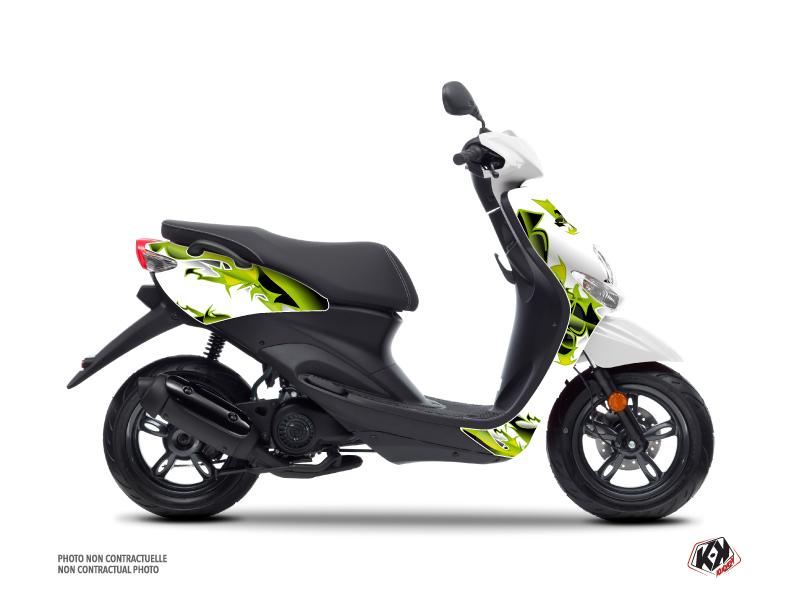 Yamaha NEOS Scooter Fun Graphic Kit Green