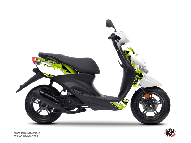MBK Ovetto Scooter Fun Graphic Kit Green