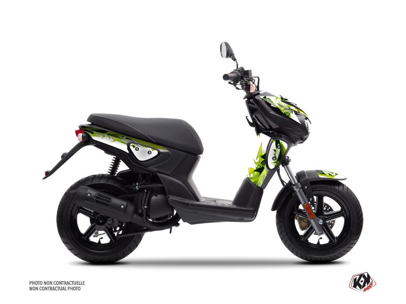 Yamaha Slider Scooter Fun Graphic Kit Green