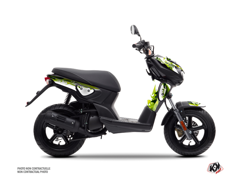 MBK Stunt Scooter Fun Graphic Kit Green
