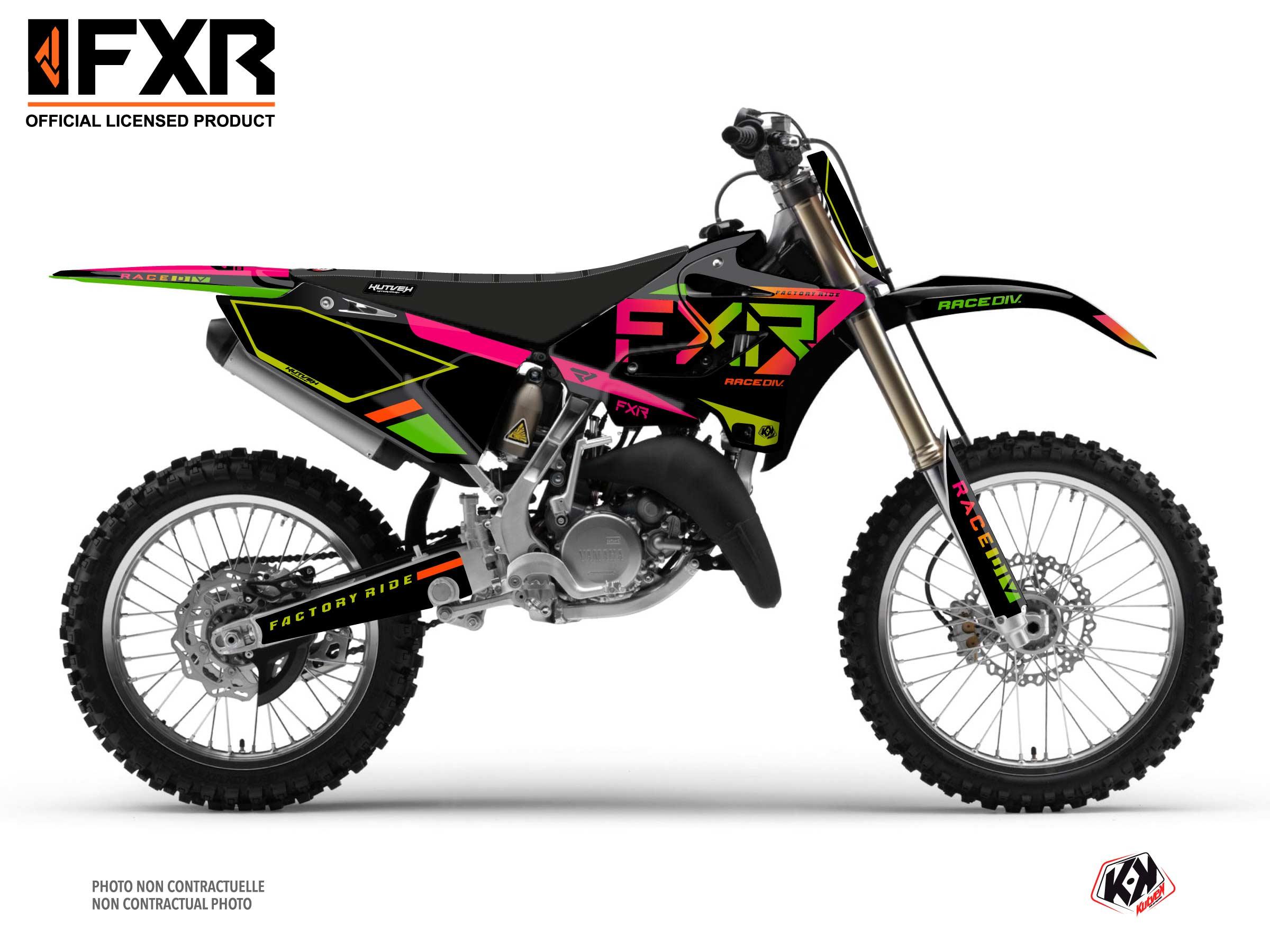 Yamaha 125 YZ Dirt Bike FXR N2 Graphic Kit Colors