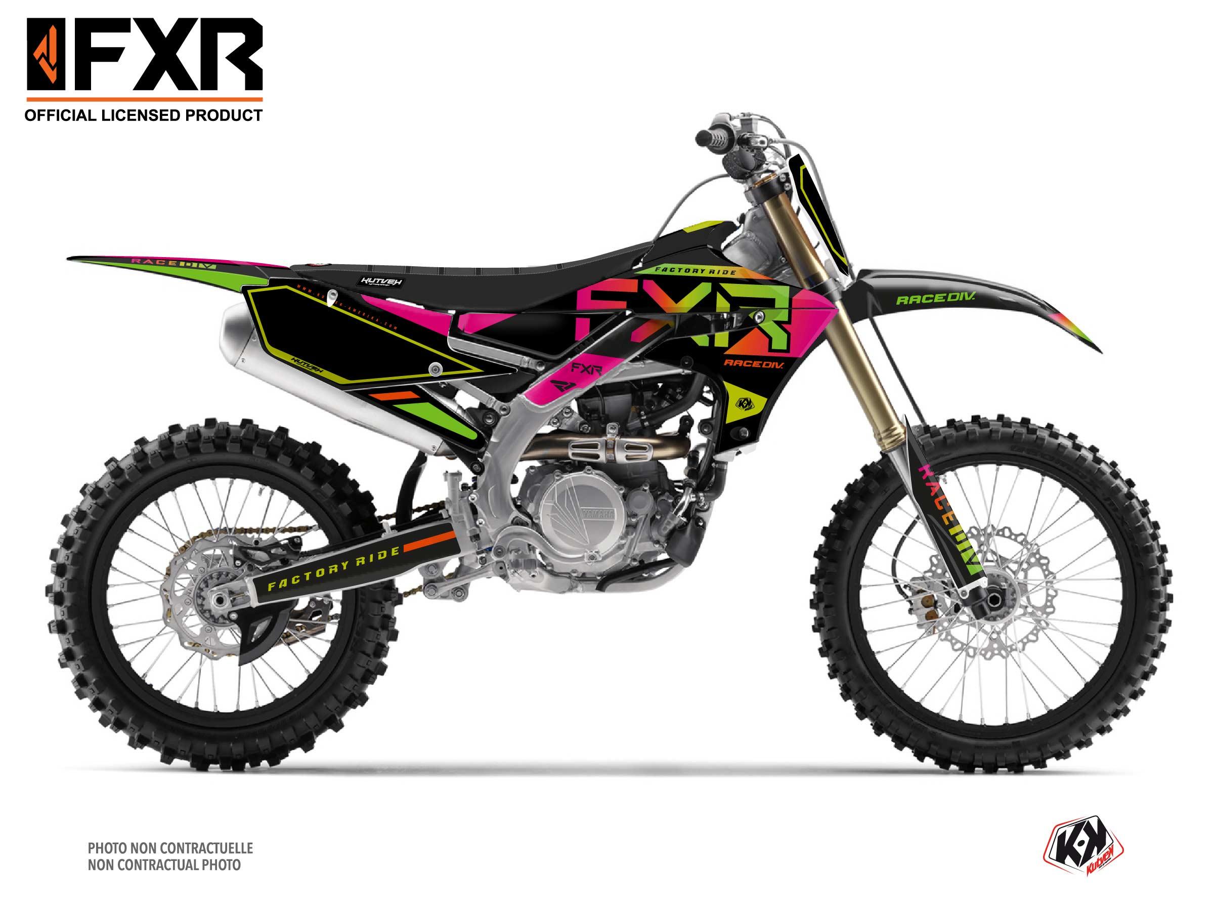 Kit Déco Moto Cross FXR N2 Yamaha 450 YZF Colors