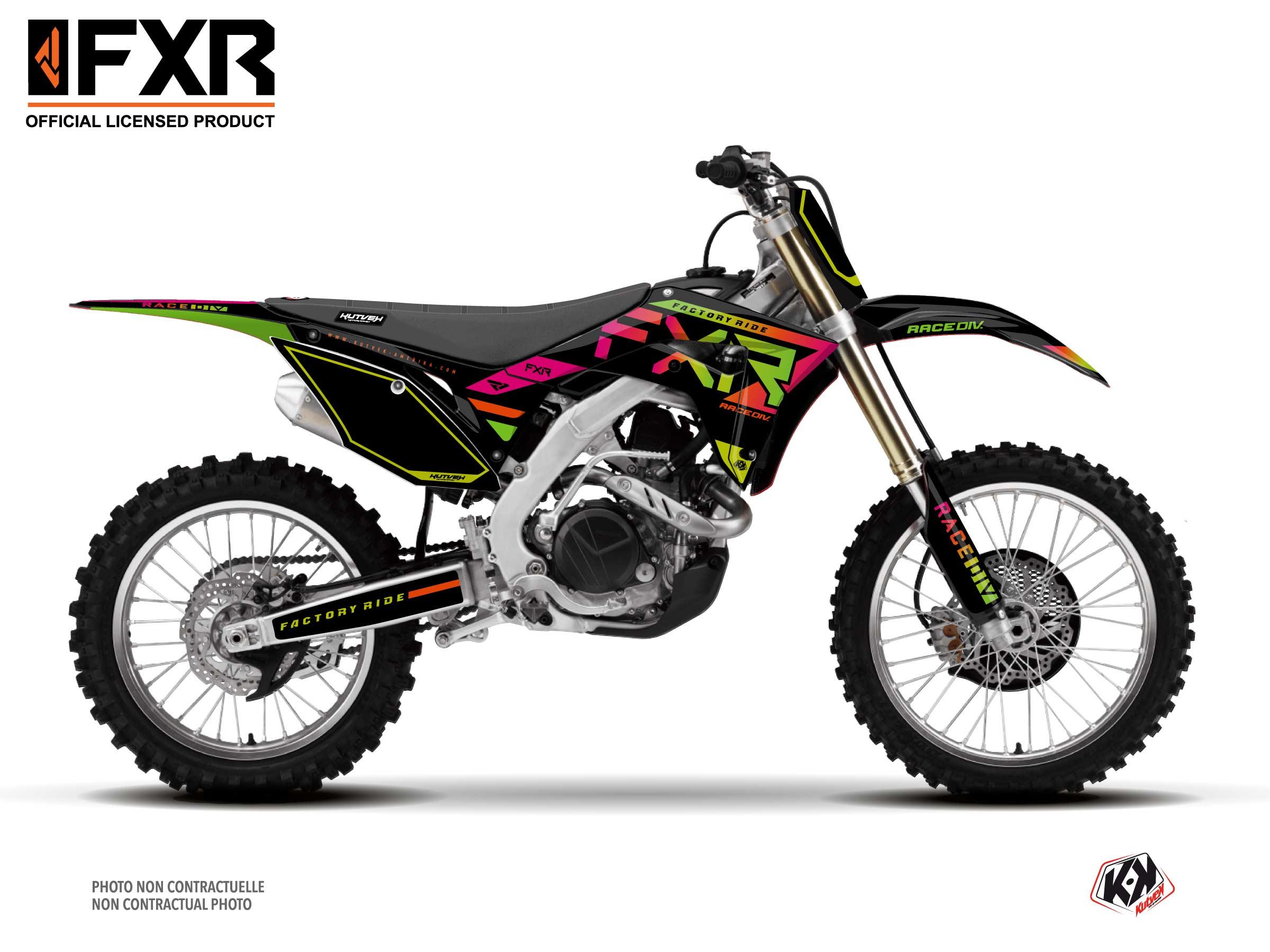 Honda 250 CRF Dirt Bike FXR N2 Graphic Kit Colors