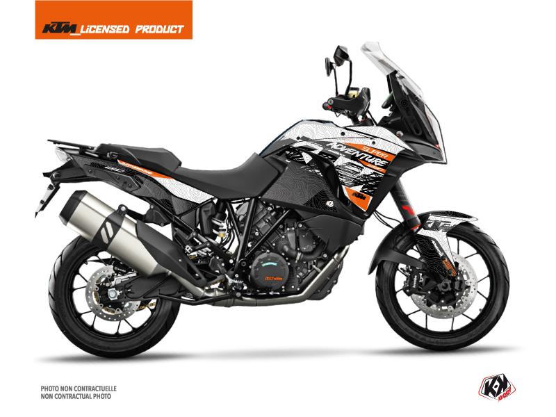 Kit Déco Moto Gear KTM 1290 Super Adventure S Blanc