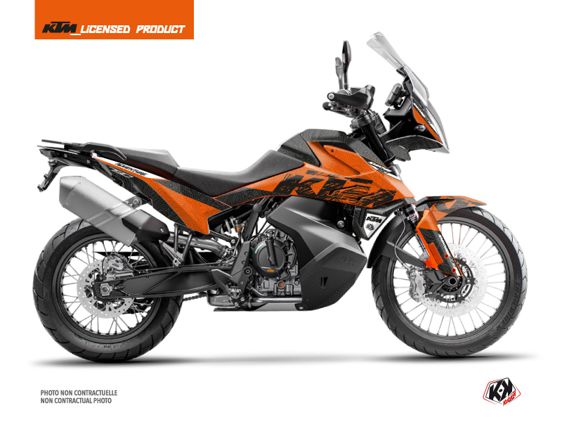 KTM 790 Adventure Street Bike Gear Graphic Kit Orange