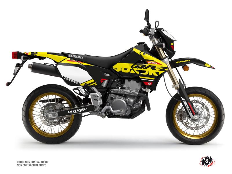 Suzuki DRZ 400 SM Dirt Bike Grade Graphic Kit Red