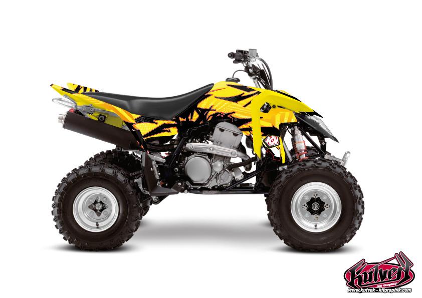 Suzuki 400 LTZ IE ATV Graff Graphic Kit
