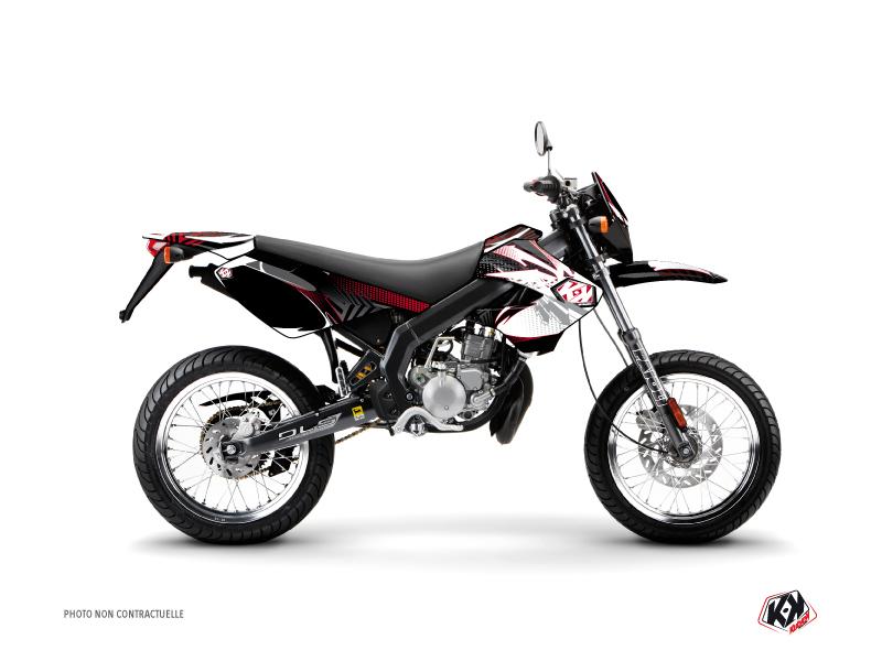 Derbi Xtreme / Xrace 50cc Graff Graphic Kit Red