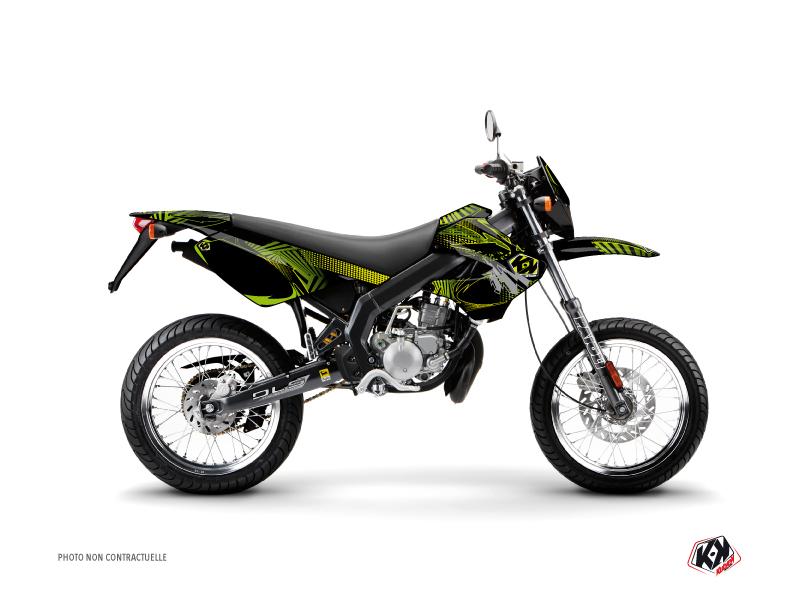 Derbi Xtreme / Xrace 50cc Graff Graphic Kit Green