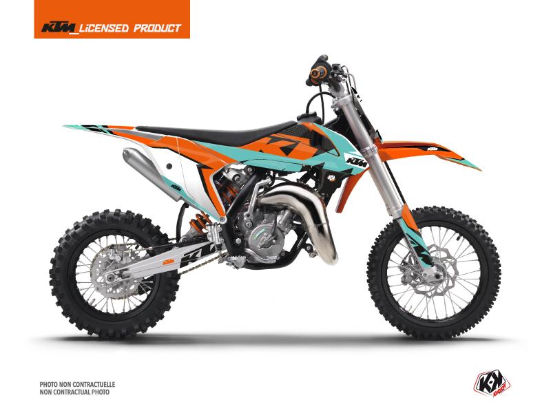 KTM 65 SX Dirt Bike Gravity Graphic Kit Green