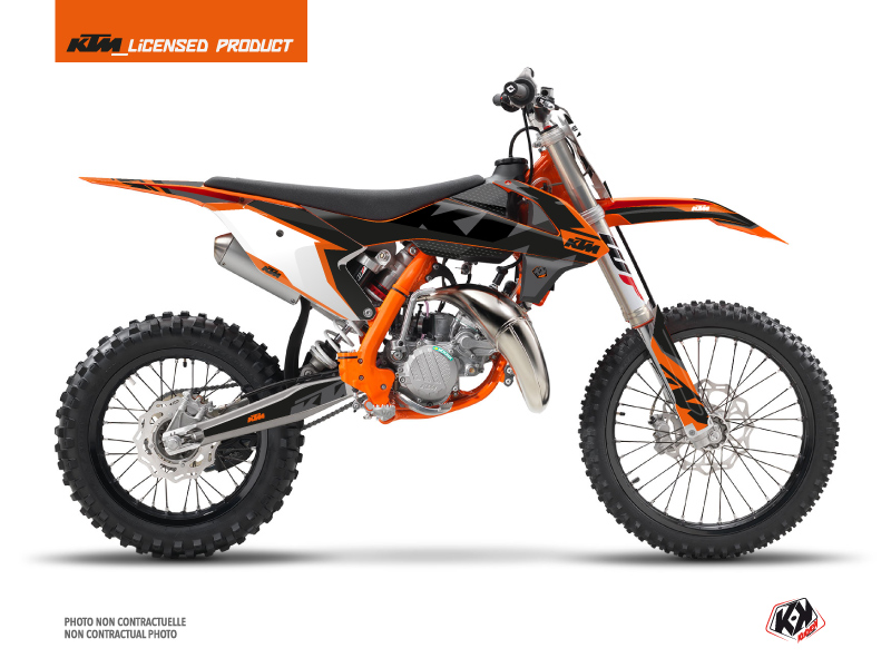 KTM 85 SX Dirt Bike Gravity Graphic Kit Orange