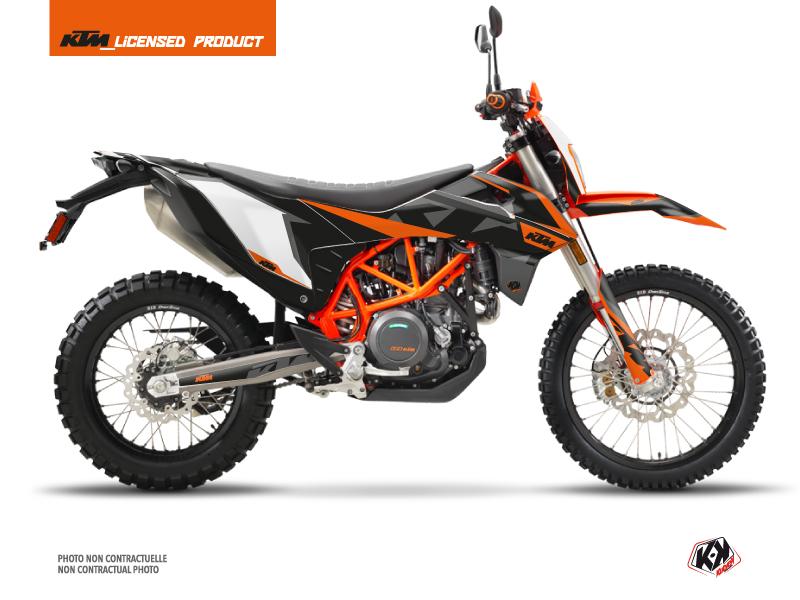 KTM 690 ENDURO R Street Bike Gravity Graphic Kit Orange