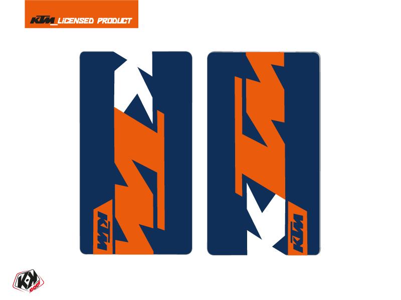Kit Déco Stickers de fourche Gravity Moto Cross KTM SX-SXF EXC-EXCF Bleu