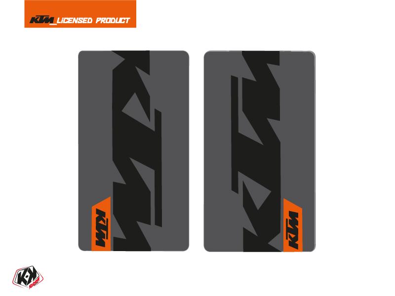 Kit Déco Stickers de fourche Gravity Moto Cross KTM SX-SXF EXC-EXCF Orange