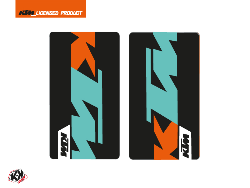 Kit Déco Stickers de fourche Gravity Moto Cross KTM SX-SXF EXC-EXCF Vert