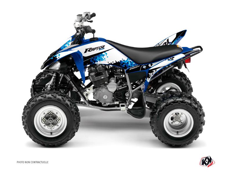 Yamaha 250 Raptor ATV Hangtown Graphic Kit Blue