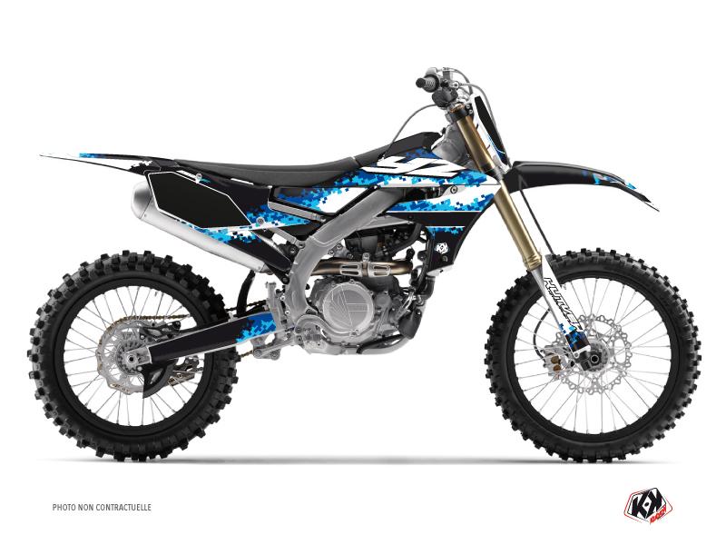 Kit Déco Moto Cross Hangtown Yamaha 250 YZF Bleu