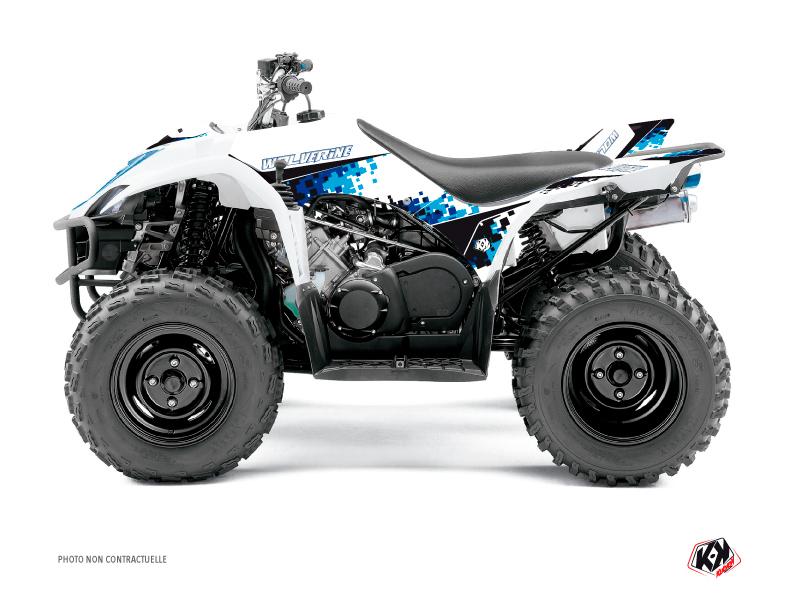 Yamaha 350-450 Wolverine ATV Hangtown Graphic Kit Blue