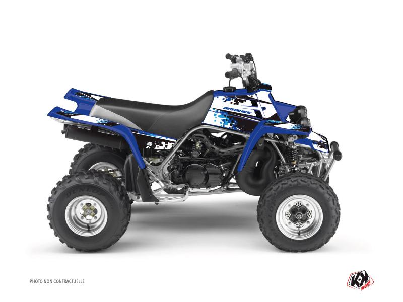 Kit Déco Quad Hangtown Yamaha Banshee Bleu