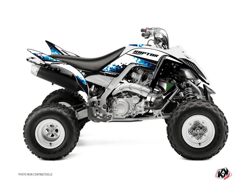 Yamaha 660 Raptor ATV Hangtown Graphic Kit Blue