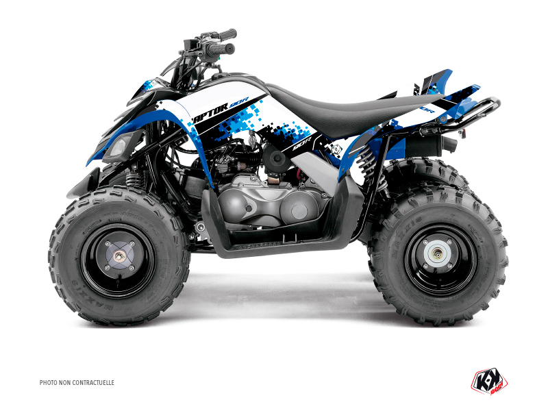 Yamaha 90 Raptor ATV Hangtown Graphic Kit Blue