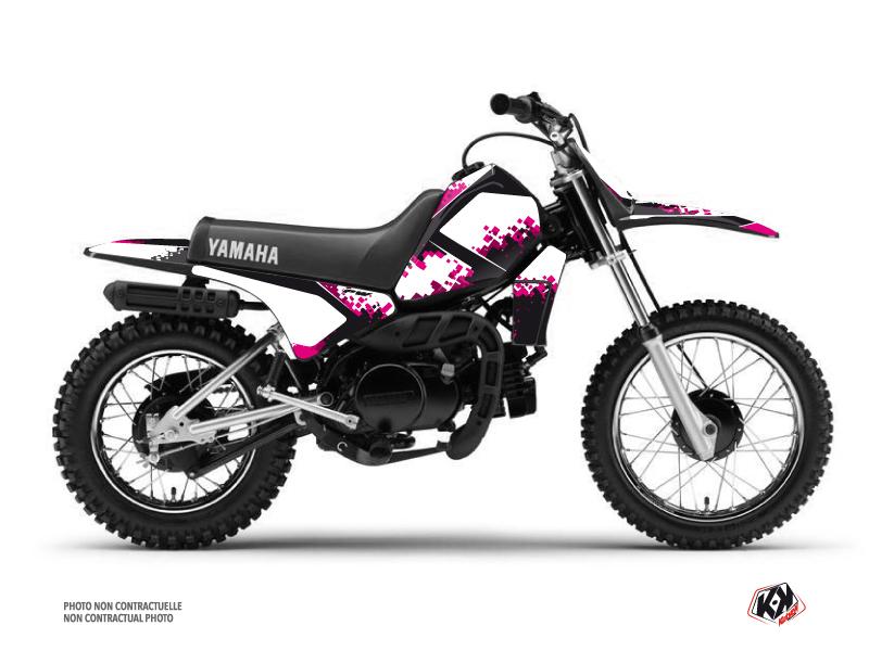 Kit Déco Moto Cross Hangtown Yamaha PW 80 Rose