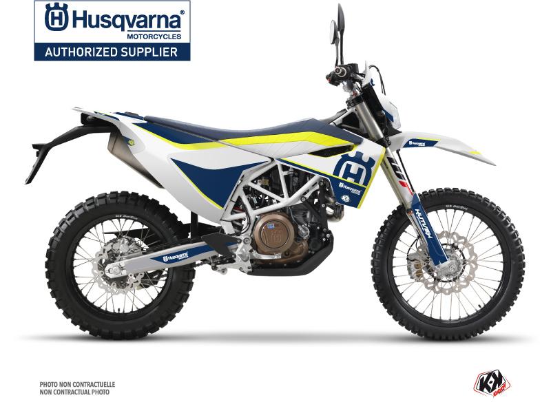 Husqvarna 701 Enduro Dirt Bike Heritage Graphic Kit Yellow
