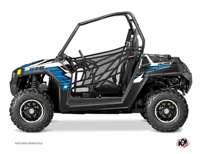 Polaris RZR 570 UTV Jungle Graphic Kit Blue