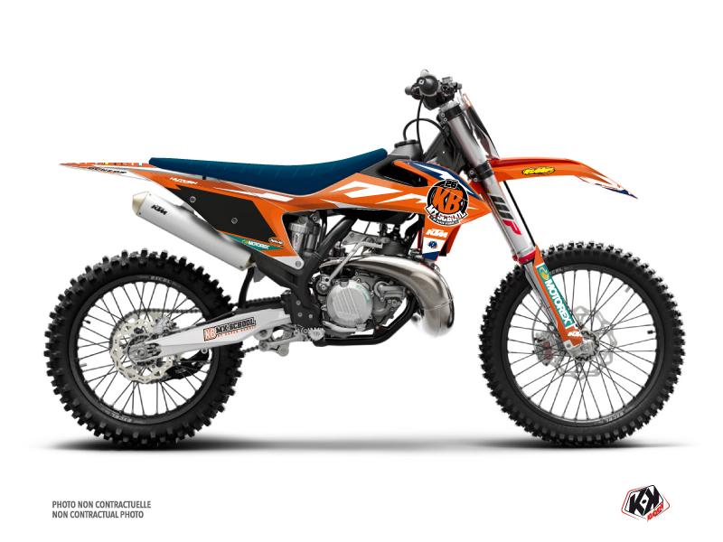 KTM 250 SXF Dirt Bike Replica KB26 2020 Graphic Kit