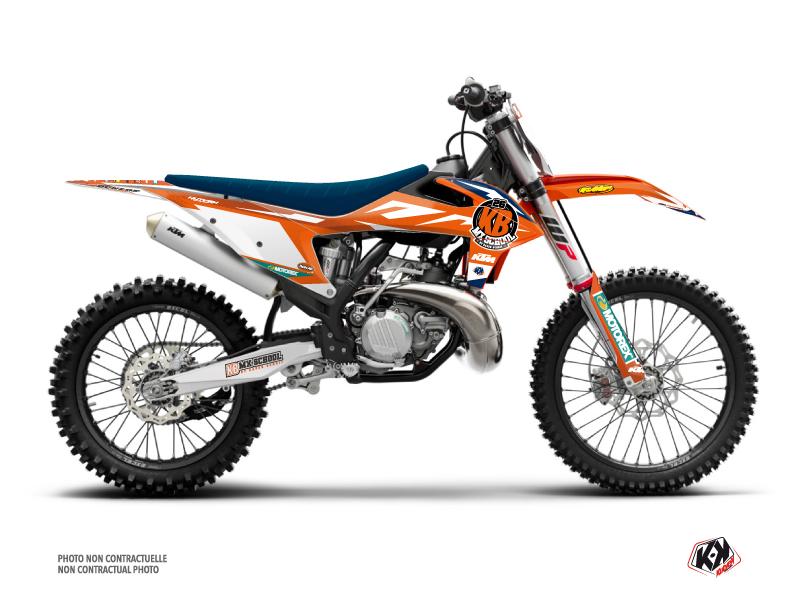 KTM 350 SXF Dirt Bike Replica KB26 2020 Graphic Kit