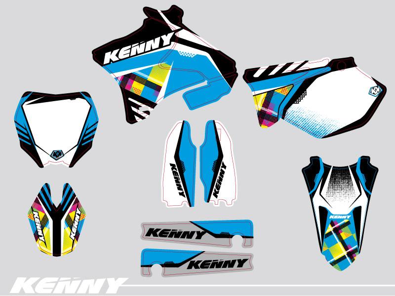 Kit Déco Moto Cross Kenny Yamaha 250 YZ