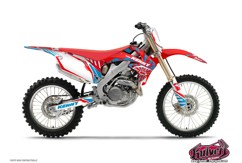 Honda 85 CR Dirt Bike Kenny Graphic Kit