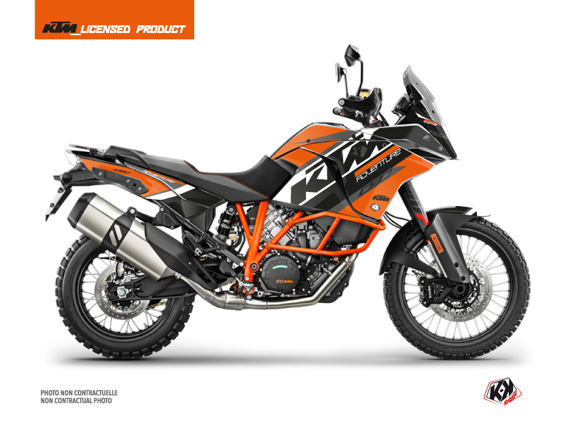 KTM 1090 Adventure R Street Bike Kontrol Graphic Kit Orange