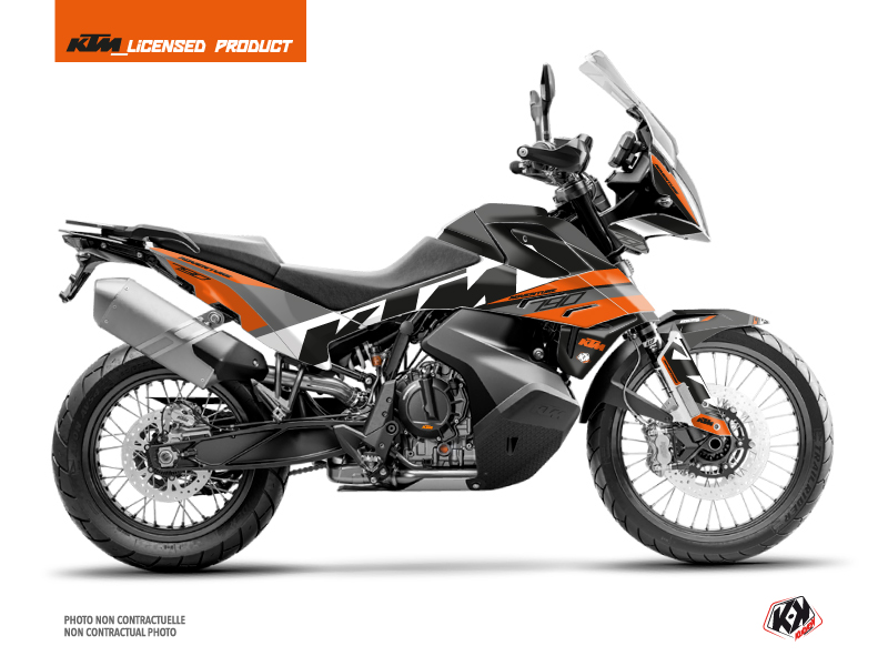 KTM 790 Adventure Street Bike Kontrol Graphic Kit Orange