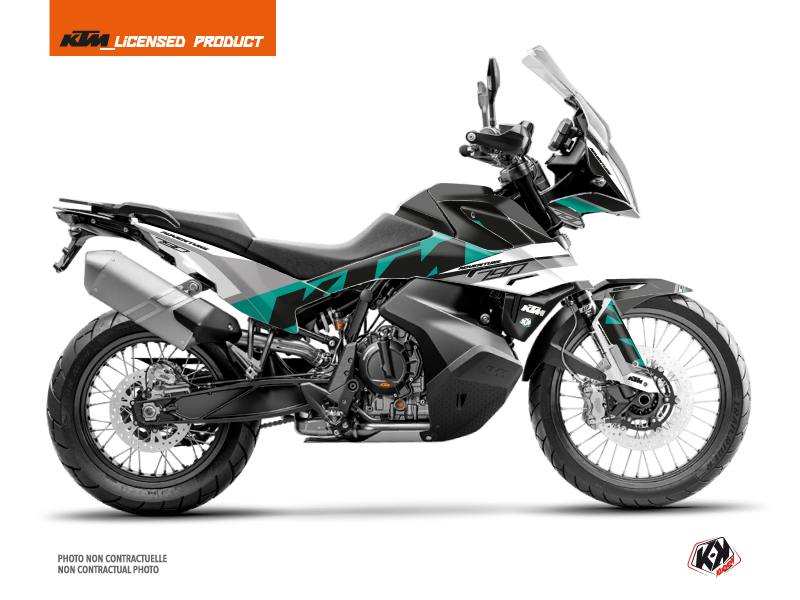 KTM 790 Adventure Street Bike Kontrol Graphic Kit Green White