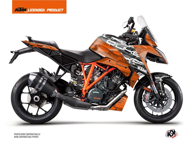 Kit Déco Moto Krav KTM Super Duke 1290 GT Noir Orange