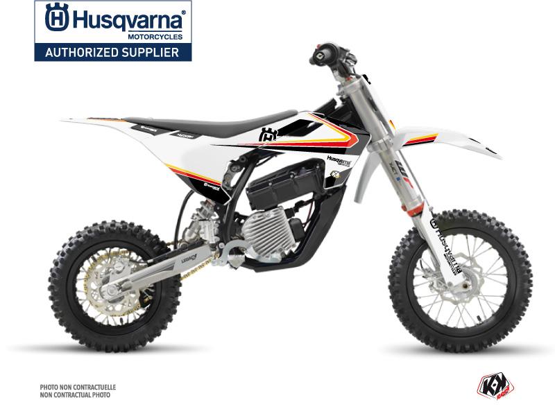 Husqvarna EE-5 Dirt Bike Legacy Graphic Kit Black Yellow