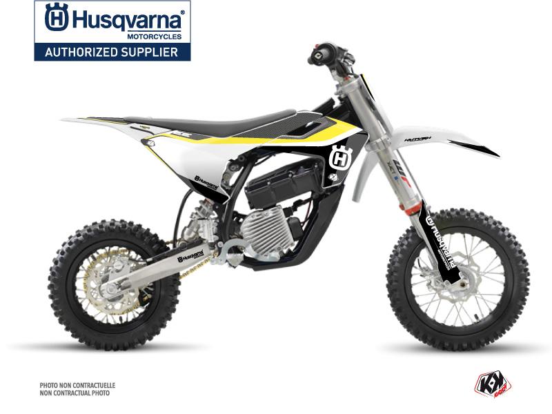 Husqvarna EE-5 Dirt Bike Legend Graphic Kit Black