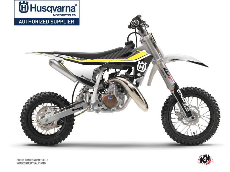 Husqvarna TC 50 Dirt Bike Legend Graphic Kit Black
