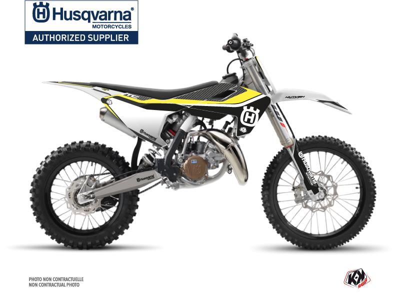 Husqvarna TC 85 Dirt Bike Legend Graphic Kit Black