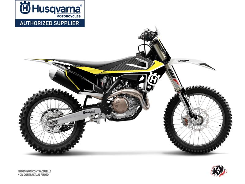 Husqvarna FC 250 Dirt Bike Legend Graphic Kit Black