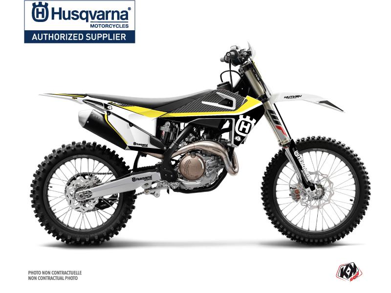 Husqvarna FC 450 Dirt Bike Legend Graphic Kit Black