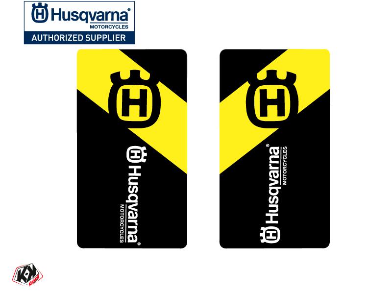 Kit Déco Stickers de fourche Legend Moto Cross Husqvarna TC-FC TE-FE Noir