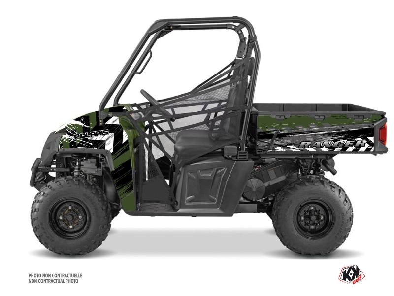 Polaris Ranger 570 FULL UTV Lifter Graphic Kit Green